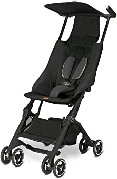 GB Pockit Monument Stroller (Monument Black)