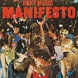 Roxy Music - Manifesto - Polydor - 2344 129, EG - 2344 129