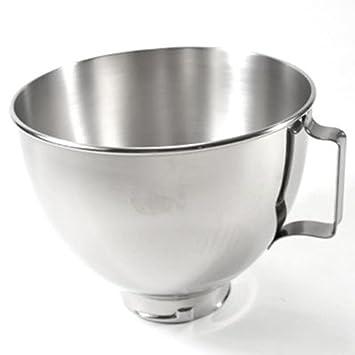 Amazon.com: KitchenAid Mixer 4.5 QT SS Bowl w/Handle K45SBWH ...