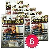 [Best Seller] PremierZen Platinum 5000 Male Enhancement Pills (6 Pills) Natural & Effective