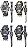 PASNEW Water-proof Dual Time Unisex Teens Sport