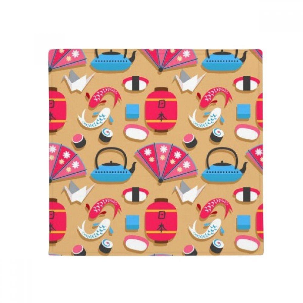 DIYthinker Crane Repeat Japanpattern Anti-Slip Floor Pet Mat Square Home Kitchen Door 80Cm Gift