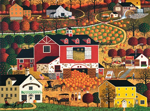 Charles Wysocki Butternut Farms Jigsaw Puzzle, 1000-Piece -