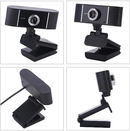 Househome Webcam 72P HD Webcam Web CAM Cámara PC Plug & Play USB para Skype, Youtube, Twitter, Panorámica Video, Compatible con Windows, Mac, Android TV: Amazon.es: Hogar