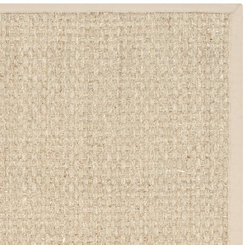 Safavieh natural fiber collection nf114a basketweave for Seagrass for landscaping