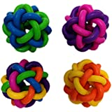 Multi Pet Nobbly Wobbly Dog Rubber Ball-Medium