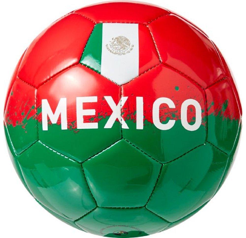 スポーツ用品メキシコSupportersミニサッカーボール、グリーン/ホワイト/レッド B079LQ38CS