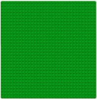 LEGO LIGHT GREEN 8 X 16 STUD PLATE PIECE BUILDING PLATFORM BASE PART