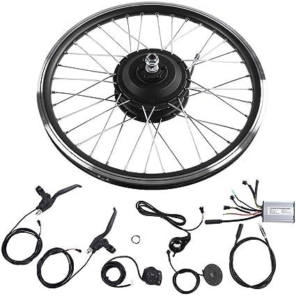 24V 250W Electric Bicycle Front Rear Wheel Conversion Kit E-Bike Motor Display