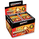 Grabber 6 Hour Toe Warmers - Box of 40 Pairs