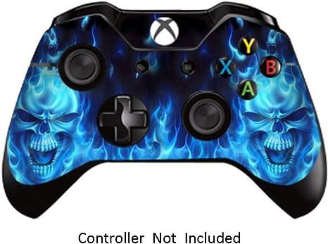 GameXcel ® Controlador Xbox Una piel - Xbox personalizada 1 mando a distancia de vinilo pegatinas - Modded Xbox One Accesorios cubren la etiqueta - Blue Deamon [ Controlador no está incluido]: Amazon.es: Videojuegos