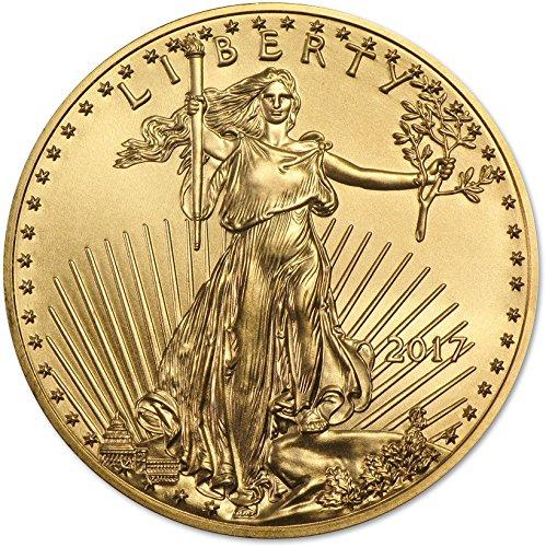 2017 American Gold Eagle (1/10 oz) Five Dollar - Gold 20 Dollar Coin