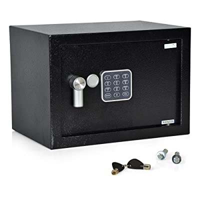 SereneLife Safe Box | Fire Safe Box | Safes And Lock Boxes | Fireproof Lock Box Safe