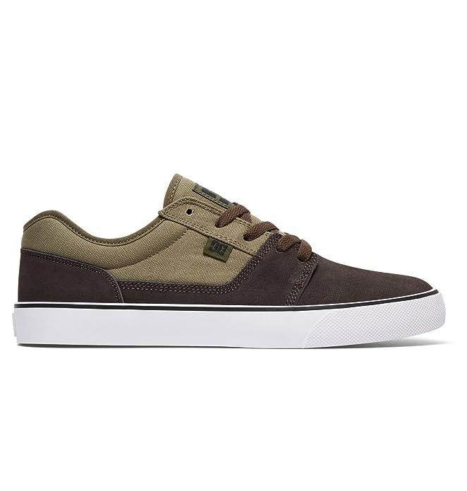 DC Shoes Tonik Sneakers Skateboardschuhe Herren Damen Unisex Erwachsene Beige/Dunkelbraun