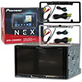 "Pioneer AVH-2300NEX Double DIN 2DIN 7"" Touchscreen WVGA DVD MP3 CD Player USB Bluetooth Apple CarPlay with Full License Plate Rear View Backup Camera (Optional Color)"