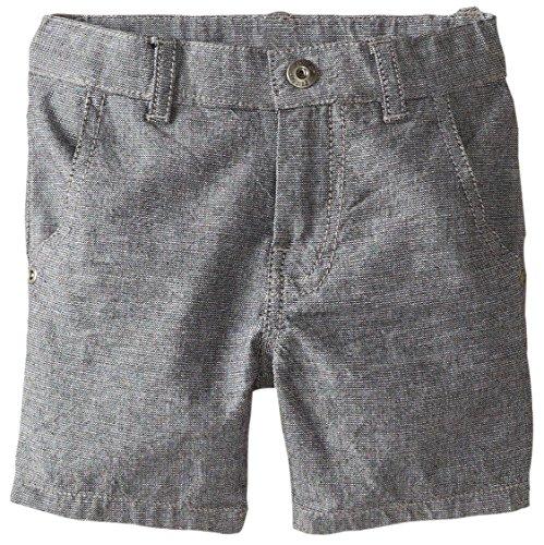 Petit Lem Boys' Little Sophisti'cat Woven Shorts, Grey, 6 ()