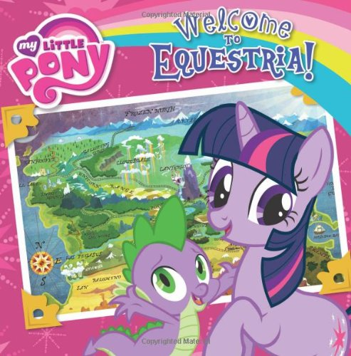 My Little Pony: Welcome to Equestria! (My Little Pony (8x8)) Eight Little Ponies