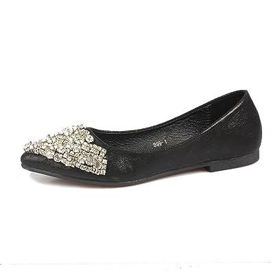 : Stewarted Zapatos planos para mujer, zapatos