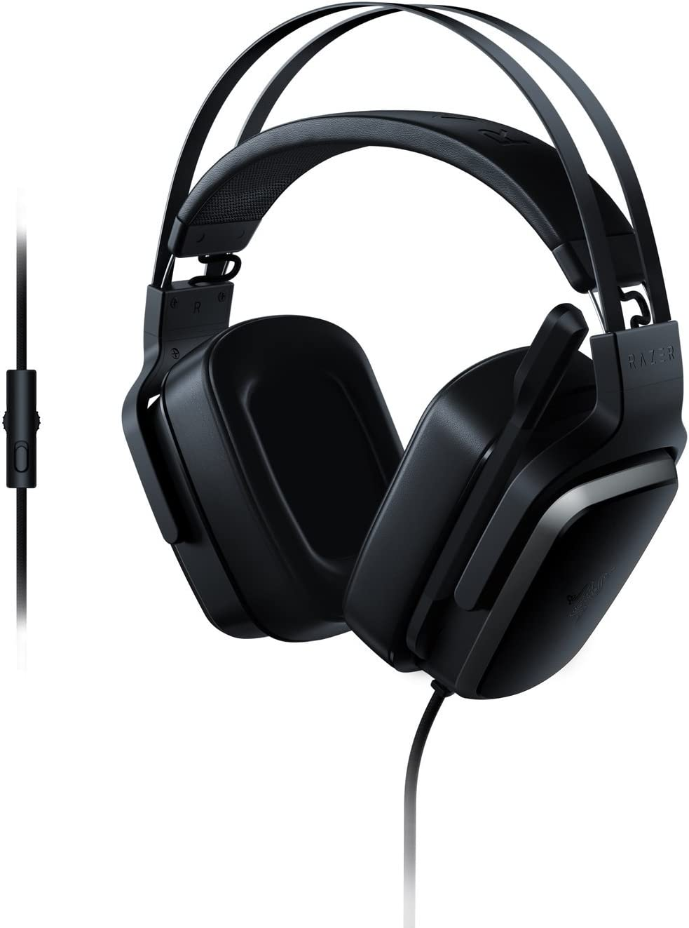 Razer Tiamat 2.2 V2 – Analog Gaming Headset – In-Ear Double Subwoofer Drivers – 7.1 Virtual Surround Sound – Compatible with PC, Xbox One, Playstation 4, and Nintendo Switch Renewed