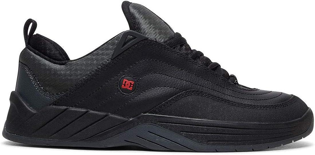 DC Shoes Men's Williams Slim Low Top Sneaker Shoes Black/Dark Grey/Athletic