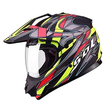 XC Casco De Moto De Carreras De Motocicletas con Cascos Completos, Compuestas Carretera Cross-