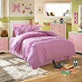 CASA Children 100% cotton series HELLO KITTY Cushion cover & Sheet & Pillowcases & duvet cover,3 Pieces,Twin