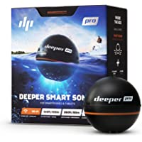 Deeper PRO Smart Portable Sonar - Wireless Wi-Fi Fish Finder for Kayak and Ice Fishing