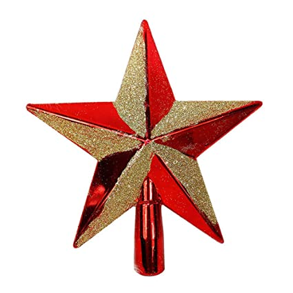 Xmas Sparkle 3D Star Christmas Tree Topper, Christmas Tree Decorations,  Shiny/Glitter, - Amazon.com: Xmas Sparkle 3D Star Christmas Tree Topper, Christmas