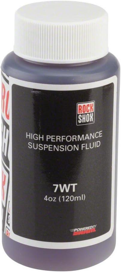 RockShox Rear Suspension Damping Fluid 7wt 120ml Bottlexc2;xa0;