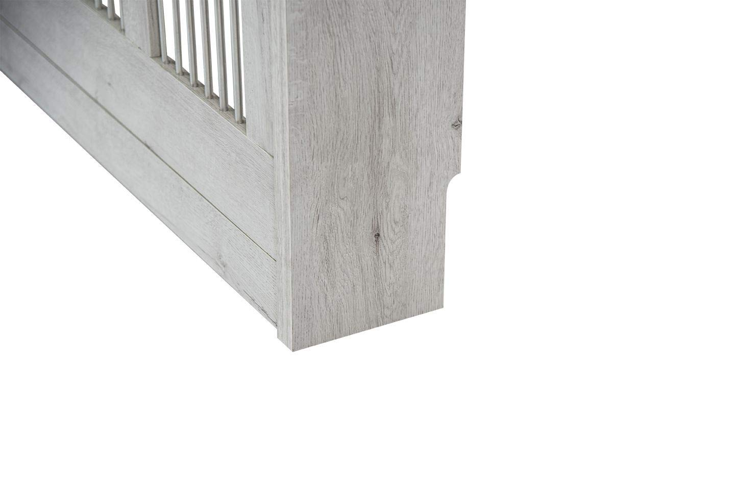 TopKit 3091PUCC Cubre radiador Cristian 3091 18 x 90 x 84 cm Puccini Tablero aglomerado de Alta Densidad y melamina con Gran Resistencia al Rayado