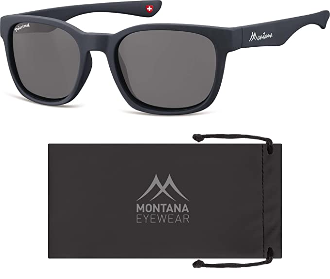 Montana MP30, Lunettes de Soleil Mixte, Multicolore-Multicoloured (Grey/Smoked Lenses), Taille Unique