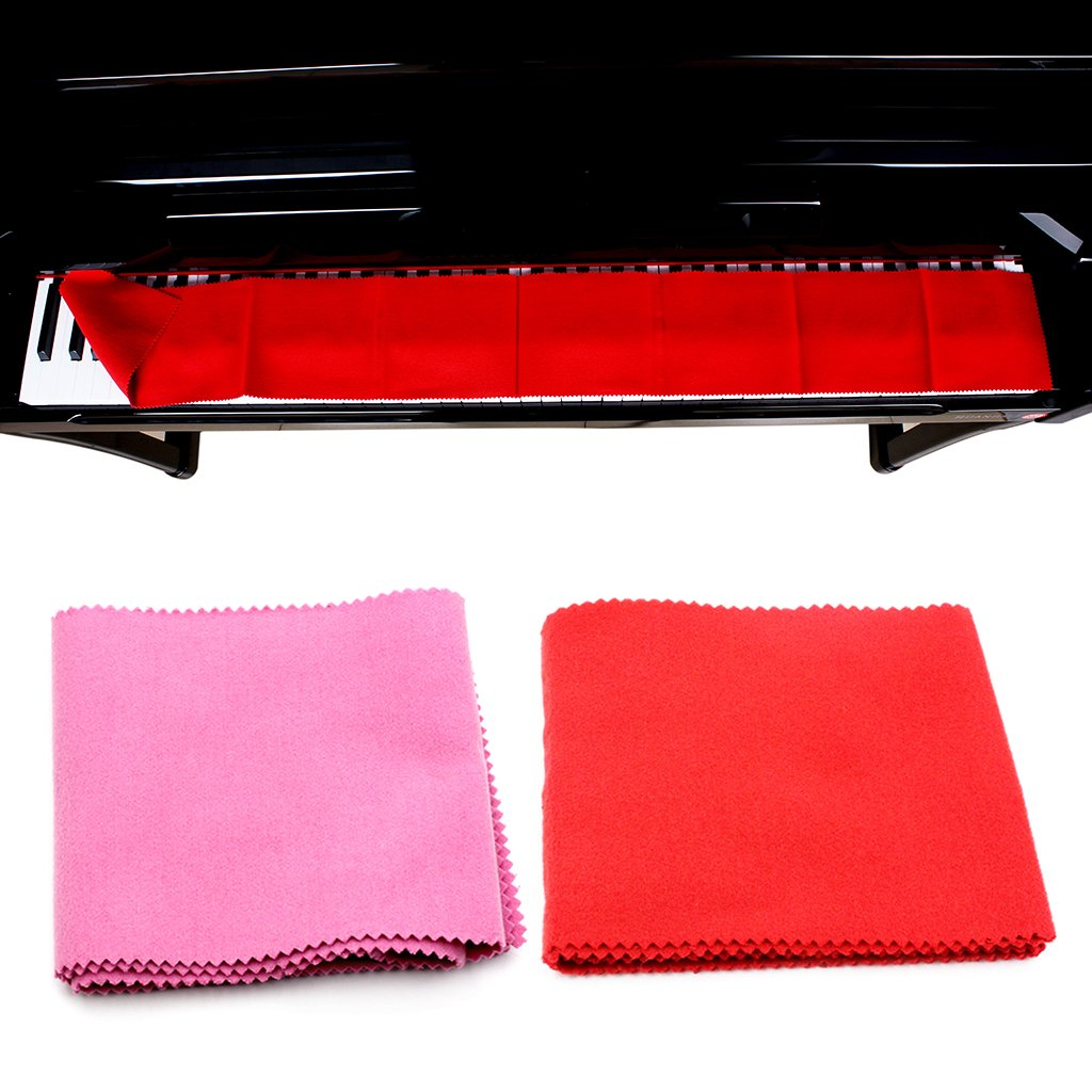 TwJim 88 Key Piano Keyboard Anti-Dust Cover Cloth Care Musical Instruments Accessories