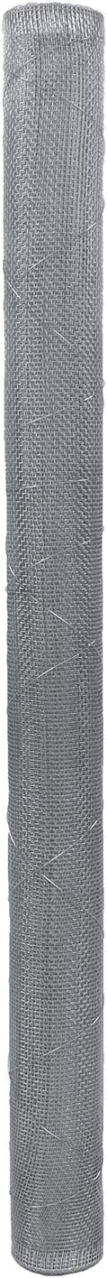 Rural365 Galvanized Steel Hardware Cloth 1/4 Inch Welded Mesh Chicken Wire Fence Cage Screen Netting - 3x100ft Bulk Roll