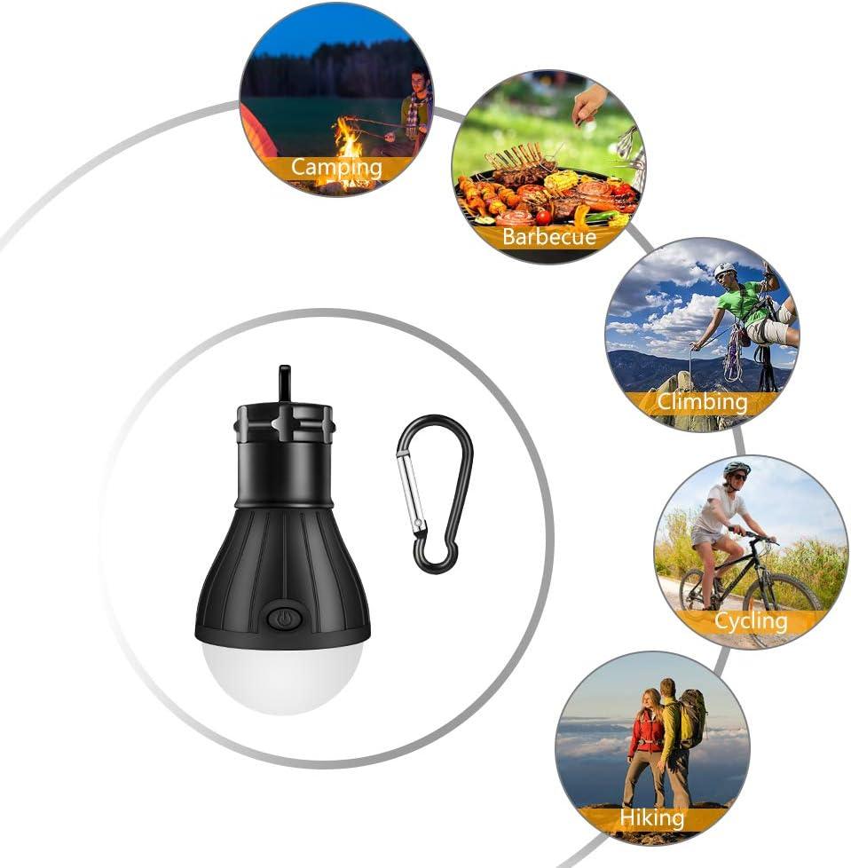 Linkax Lanterne Camping LED Lampe Camping Puissante 150 Lumens P/êche randonn/ée Cave Portable Camping lumi/ères pour Camping Lot de 3