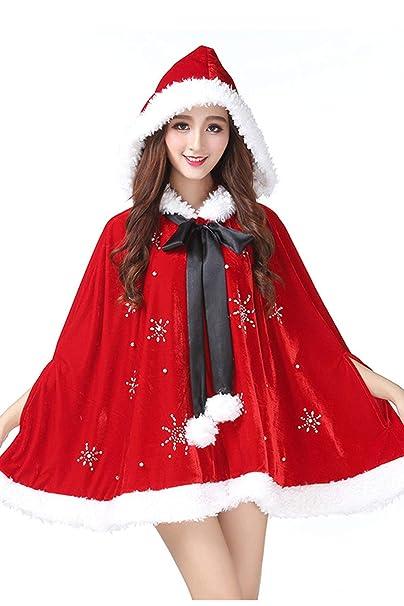 Amazon.com: Checkin - Vestido con capucha para mujer, diseño ...