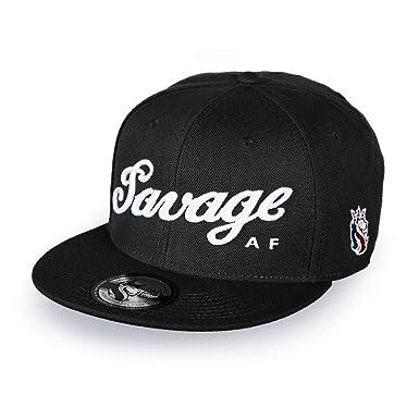 Amazon.com  OGABEL Men s Savage Snapback (Black)  Clothing e8cb5b56b1e