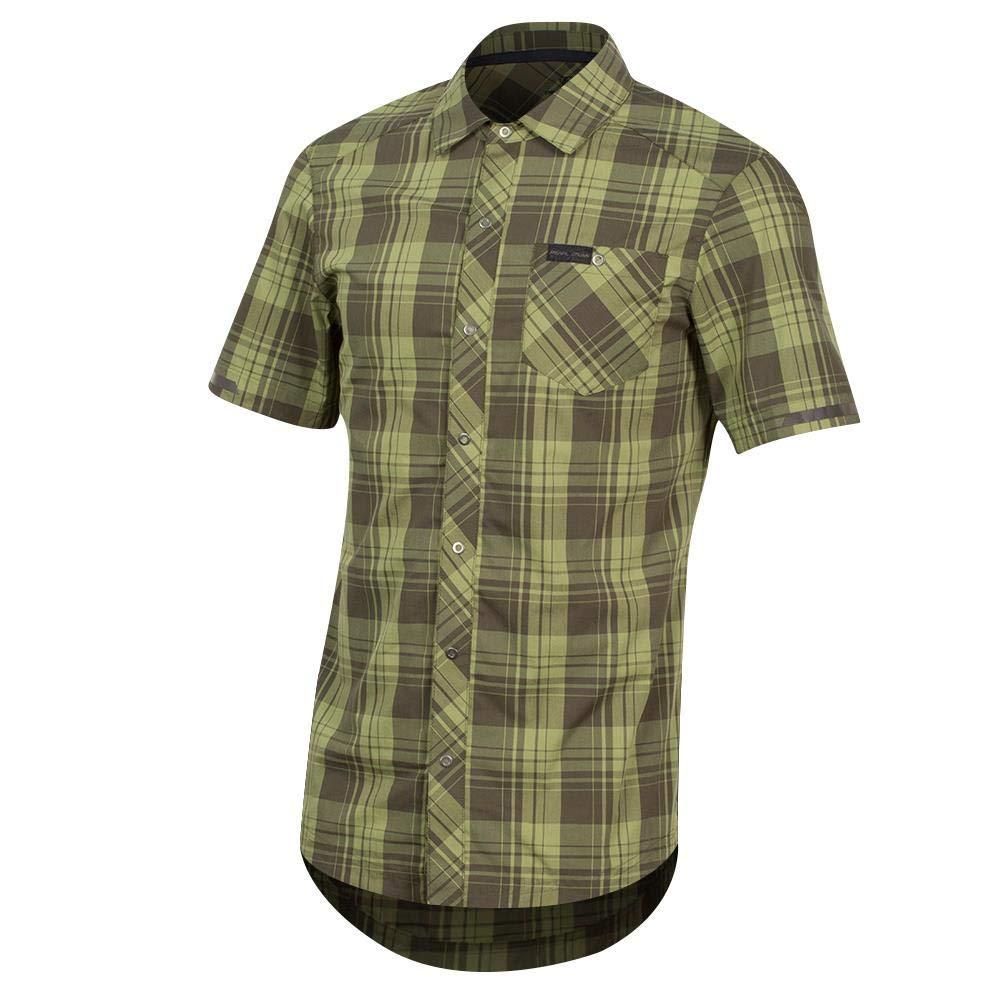 Amazon.com  Pearl iZUMi Short Sleeve Button-Up d4b6f2458