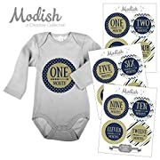 Modish - Creative Collective Tribal Arrow Monthly Baby Stickers, Baby Boy, Milestones Baby Photo Prop, Baby Shower Gift, Newborn Gift