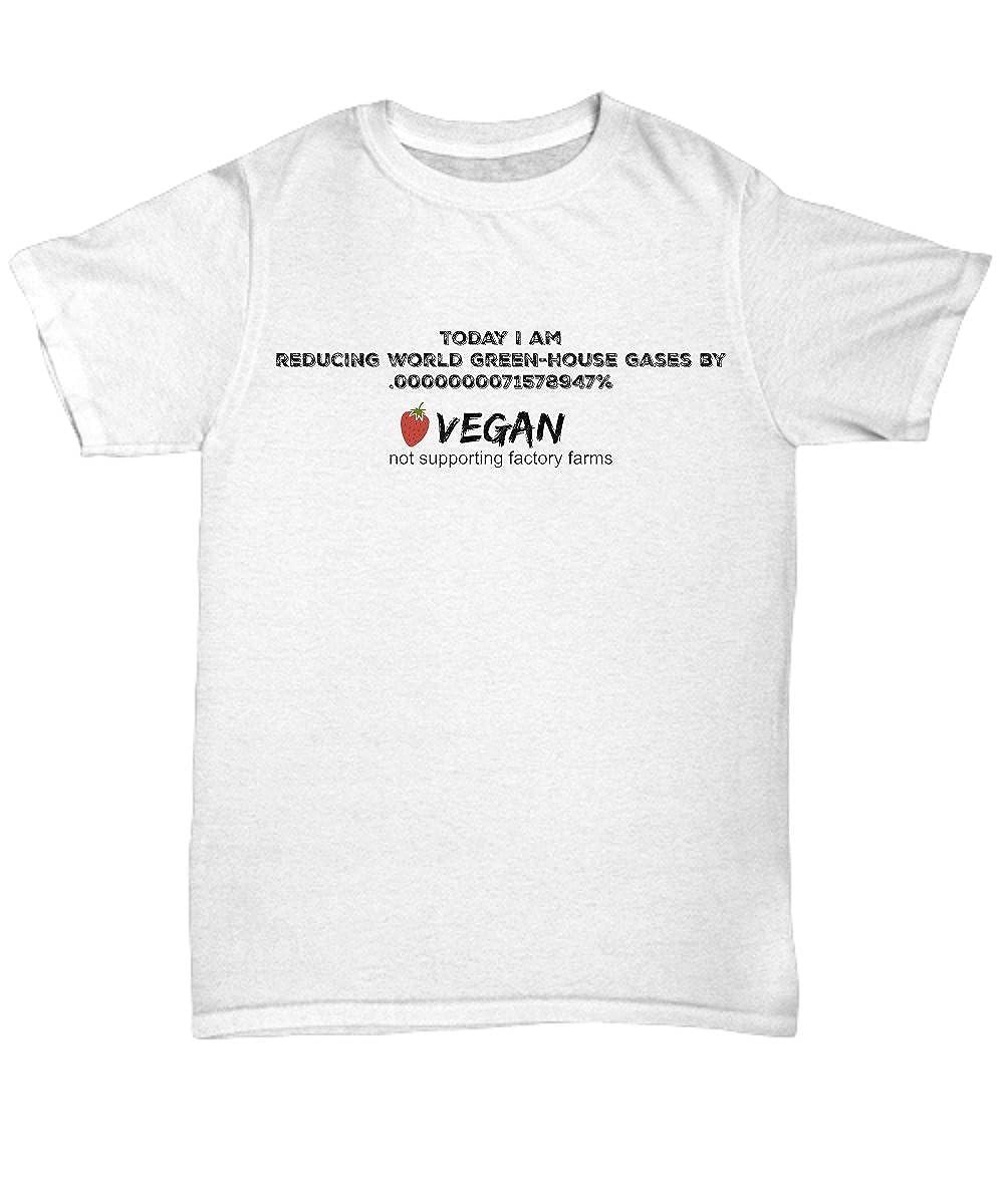 cf13d52bbc Amazon.com: Men's Vegan Saving the World T-shirt, Unique Gift: Clothing