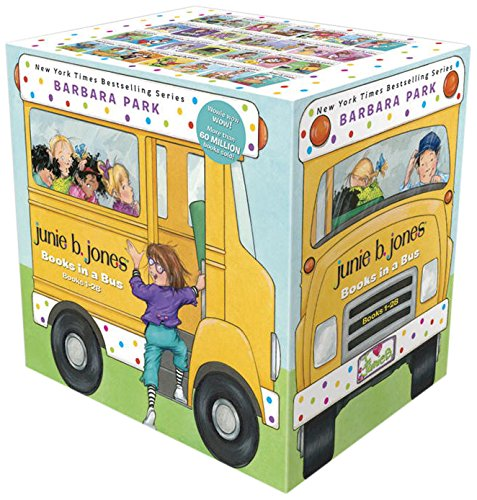 Junie B. Jones Books in a Bus (Books 1-28) by Random House Books for Young Readers
