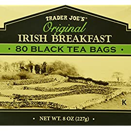 Trader Joe's Original Irish Breakfast Tea (80 Black Tea Bags Per Box) 72 Trader Joe's Original Irish Breakfast Tea (80 Black Tea Bags Per Box)