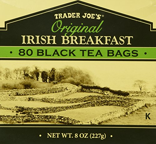 Irish Tea Tea Black (Trader Joe's Original Irish Breakfast Tea (80 Black Tea Bags Per Box))