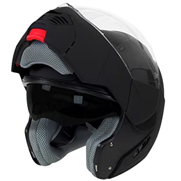 Hawk ST-1197 InFlux Black 2 in 1 Modular Helmet - Large