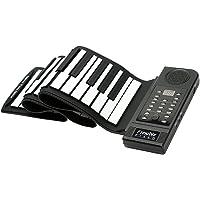 [進化版]Lujex ハンドロールピアノ ロールアップキーボード ピアノ 61鍵 ハンドロール 電子ロールピアノ 音が進化