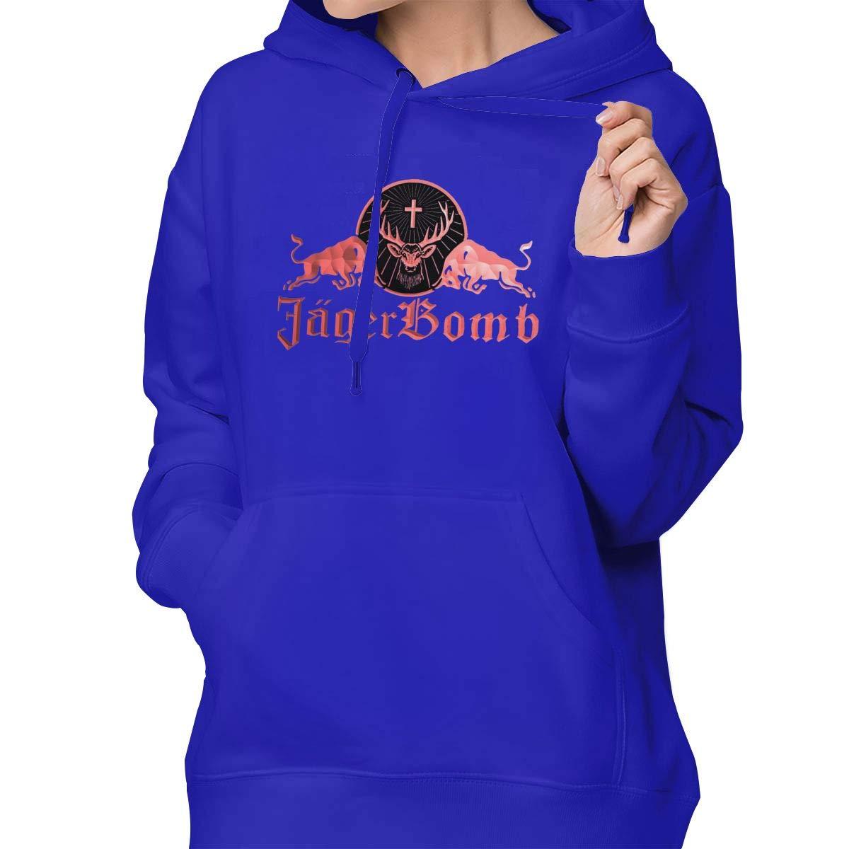 Aidear Jagermeister Girl Sweater Cute Outwear Shirts