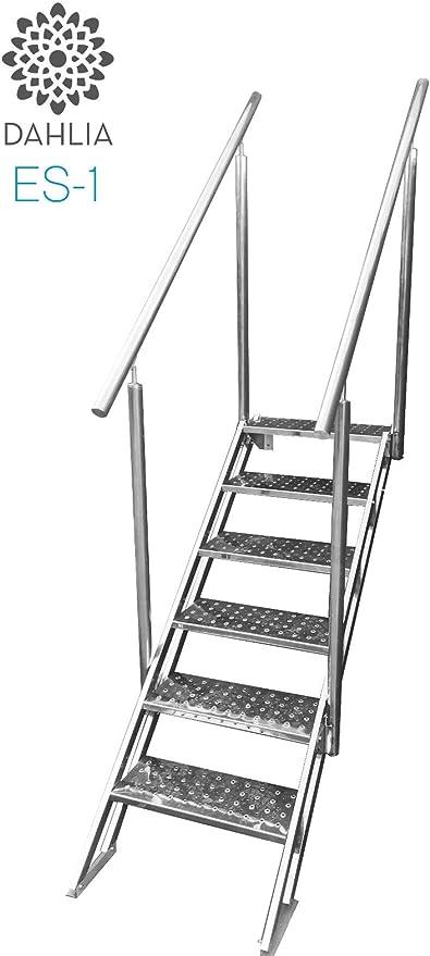 Escalera de Piscina de Facil y Seguro Acceso de Acero Inoxidable ...