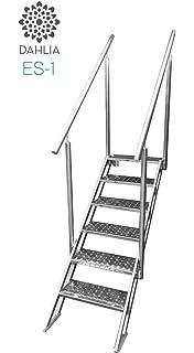 Dahlia Escalera de Piscina Acceso facil: Amazon.es: Jardín