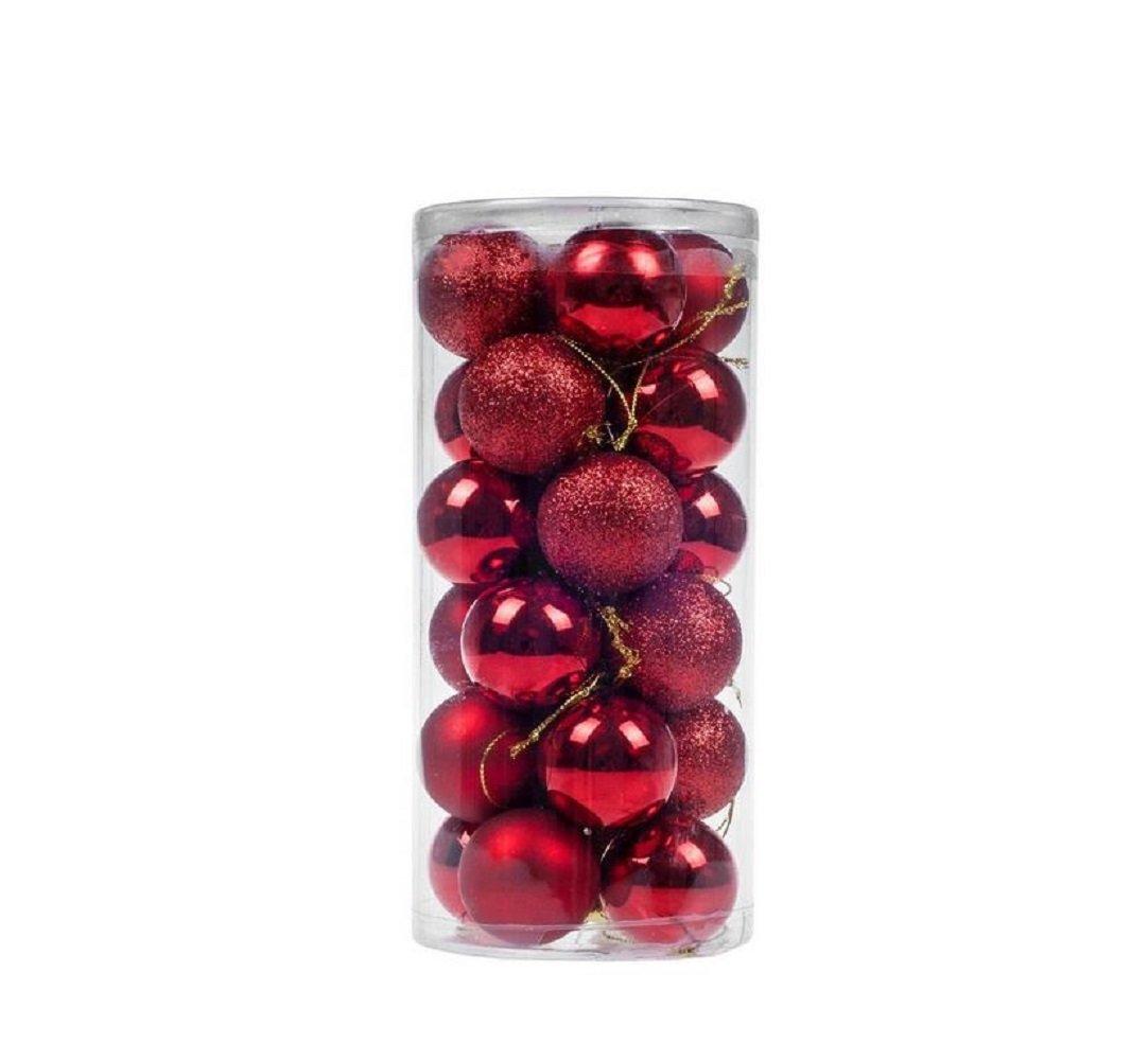Cheap4uk 24 pcs Christmas Baubles Xmas Tree Ornament Ball Party Garden Decor(3cm,Gold) Others