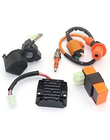 KKmoon Regolatore Raddrizzatore Adatto per Polaris Sportsman 4014543 4015214 4015230 4014405