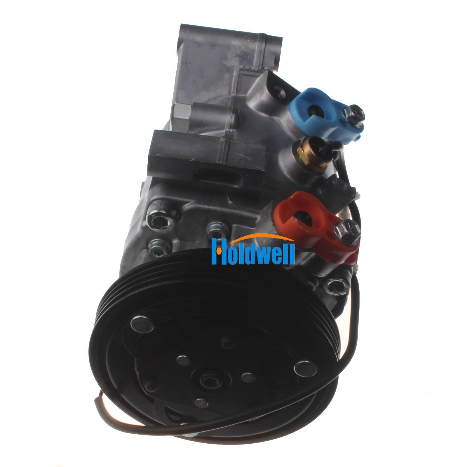 Holdwell Auto AC Compressor 95201-77GB2 9520177GB2 for Suzuki Jimny Seiko Seiki SS07LK10 by Holdwell (Image #4)
